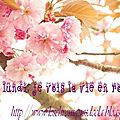Le LunDi je vOis la vie en <b>rOse</b> (mme quand je suis malade)