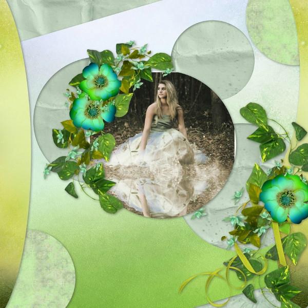 Flomelle_Template1_Pack6 - kit de Talou - promenade dans mon jardin - photo Pixabay