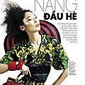 Editorial: 'Beginning of Summer' with Dinara Chetyrova by Ryan <b>Michael</b> <b>Kelly</b> for Elle Vietnam, June 2011