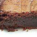 Moelleux au <b>chocolat</b>