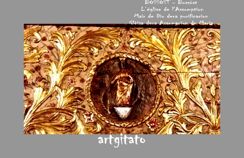 Bossost - Bossòst Eglise de L'Assomption Mair de Dieu Gleisa dera Assompcion de Maria Artgitato 7