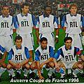 Auxerre champion 1996, déjà 20 ans (la suite)...