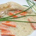 Cuisses de poulet au vinaigre à la lyonnaise
