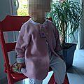 Une Salzburg déclinée en robe de chambre, recyclage #3