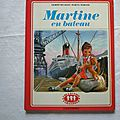 Martine en bateau, gilbert delahaye, marcel marlier, collection la farandole, éditions <b>Casterman</b> 1974