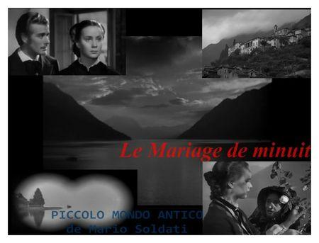 Le Mariage de minuit de Mario Soldati 1941