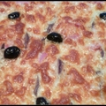 Pizza jambon <b>anchois</b>