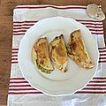 Empanadas à la <b>courgette</b>/emmental