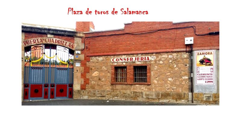 Plaza de toros de Salamanca 6 Puerta de cuadrillas