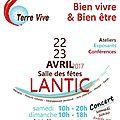 Energies Subtiles: les 15, 16 et 17 avril à GOURIN + Rencontres Bien vivre et Bien être: les 22 et 23 avril 2017 à LANTIC