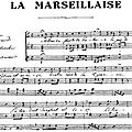 Les Paroles de la <b>Marseillaise</b> sur l'écran géant du Stade France lors du match France-Ukraine!