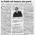 La Codah voit toujours plus grand ou... le rêve étriqué de grandeur de Luc Lemonnier
