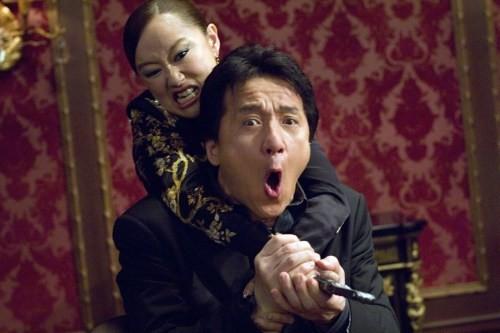 Youki Kudoh et Jackie Chan