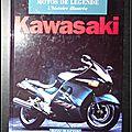 Motos de légende, l'histoire illustrée : <b>Kawasaki</b> - Roy Bacon