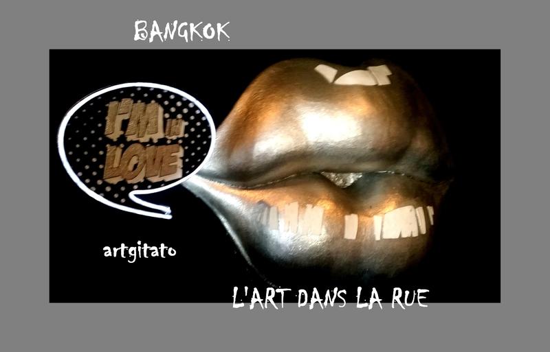 Bangkok Thailande Thailand Artgitato 15 Art de la Rue