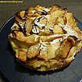 Gâteau léger aux <b>pommes</b> et citron