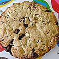 One pan cookie chocolat noir et blanc