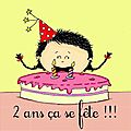 2 ans a se fte !!! (  gagner...)