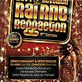 Réveillon Raï R'n'b Reggaeton 2014 Espace Viviani Lyon 8ème