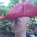 <b>Chapeau</b> pirate et mousquetaire