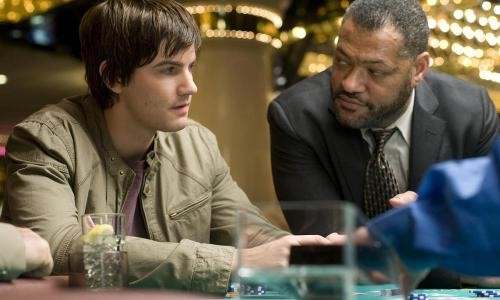 Jim Sturgess et Laurence Fishburne