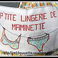 Sacs lingerie ...