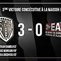 Buts Angers <b>Guingamp</b> 3-0 (Vidéo)