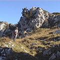 Rochers de Chalves 1845 m de Pomaray