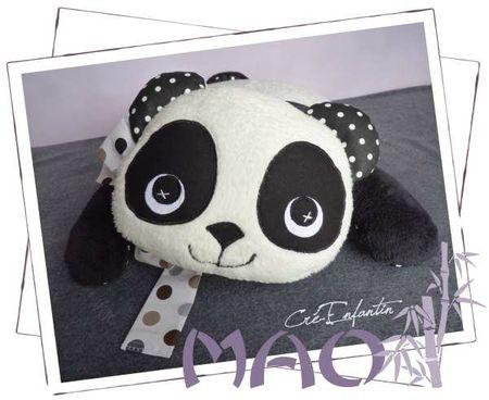 Coussin Panda 01-600
