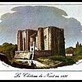 NIORT (79) - 1793/<b>1794</b> - ÉTAT DES DÉTENUS MORTS EN PRISON A NIORT
