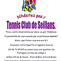 Club de tennis de Seillans (Var)
