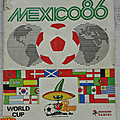 Album ... Football <b>Panini</b> Coupe du Monde MEXICO 1986