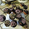 CAKE POPS <b>ORANGE</b> VANILLE (APPAREIL OU FOUR)