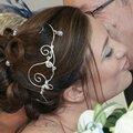 <b>Accessoire</b> de coiffure mariage : bijou de tête original pour la mariée, Diadème Paola