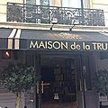 La Maison de la Truffe (<b>Restaurant</b>, Paris, Marbeuf)