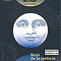 Nuit de la <b>lecture</b> samedi 20 janvier dès 17h30 à ROSHEIM et...dans toute la FRANCE