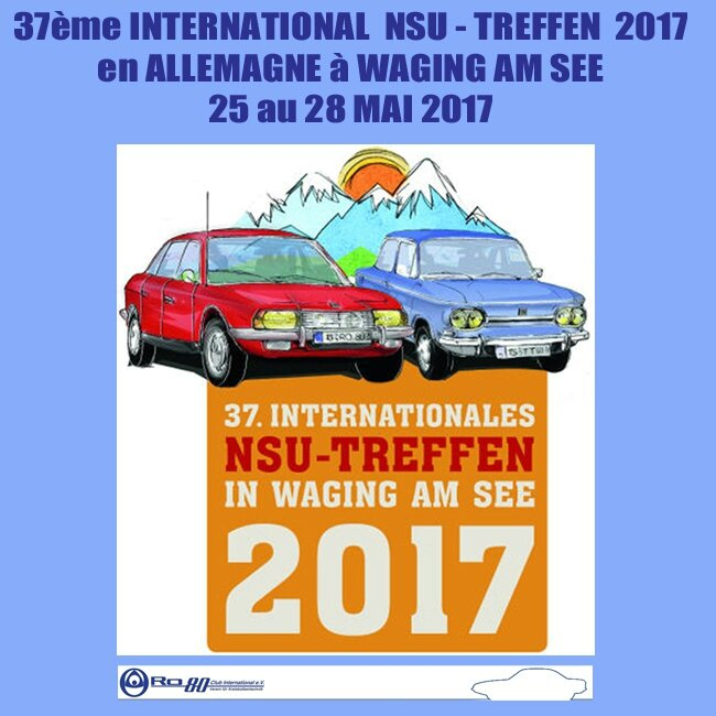 F 5 - Page 10 - 37e NSU TREFFEN 2017