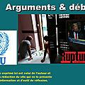 Contre les sanctions internationales, la bataille de l'information
