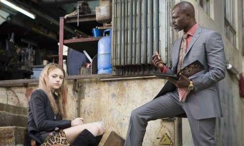 Dakota Fanning et Djimon Hounsou