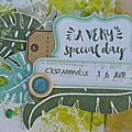 A Very Special Day - Challenge Antre Scrap