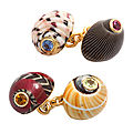 Trianon. Sea Shell <b>Cufflinks</b>