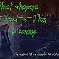 Marathon de lecture ambiance Halloween (2e partie) : du 24 au 26 Octobre