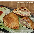 <b>Chausson</b> bacon fromage