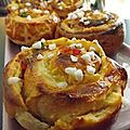 Brioche aux <b>fruits</b> confits