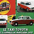 Les 3 Toyota du Professeur Sato