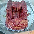 CUISINE: <b>Gâteau</b> d'anniversaire pour mon petit loup (VGL)