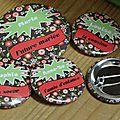 <b>Badges</b> Enterrement de Vie de Jeune Fille