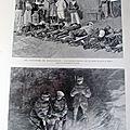 MADAGASCAR SOLDAT MALADE RAPATRIE A <b>ALGER</b> GRANDES MANOEUVRES 1895 SC 185
