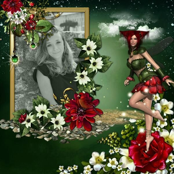 Stephairy - Ruby Fairy - photo Caroline