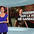Garbage au JT 12.45 sur M6